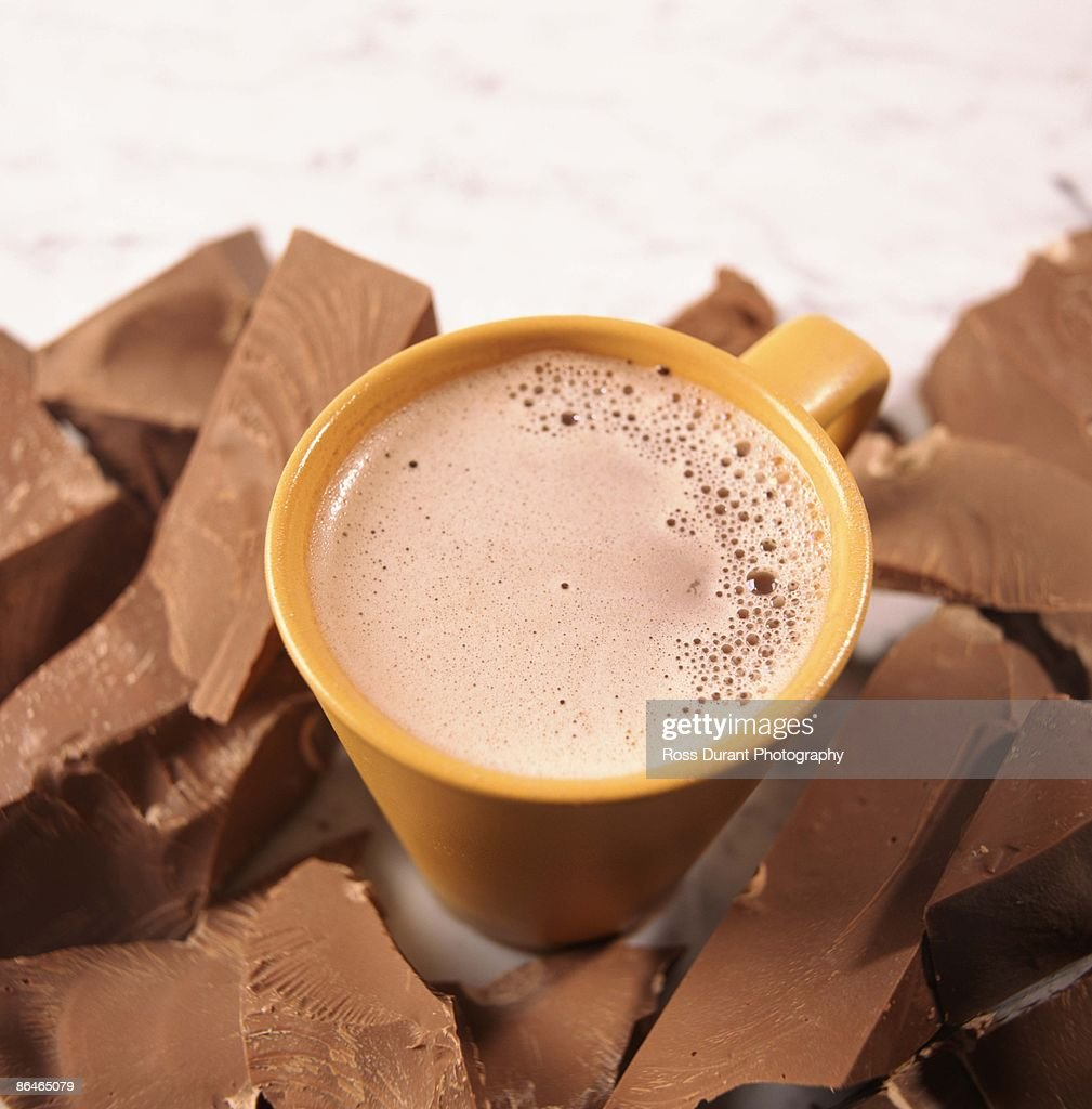 Hot chocolate : Stock Photo