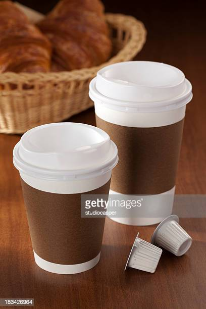 hot coffee - lid stock photos and pictures