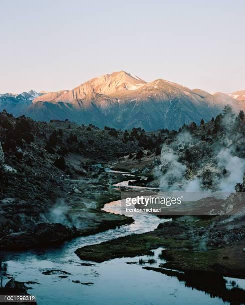 Hot Creek Springs, California, America, USA
