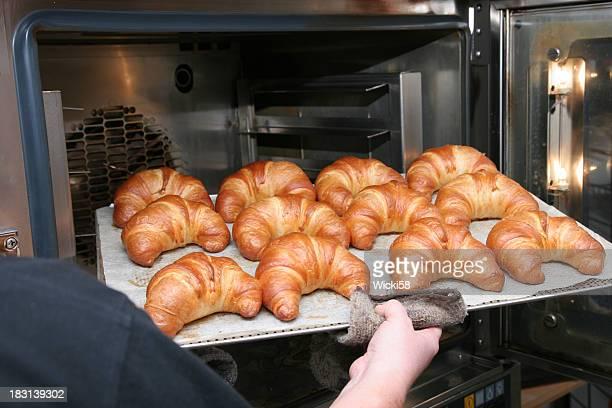 Warme Croissants