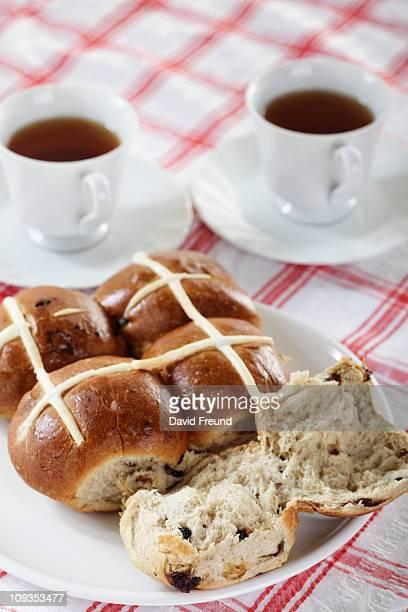 Hot Cross Buns and Tea