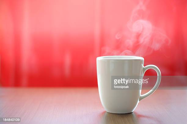 ホットコーヒーを