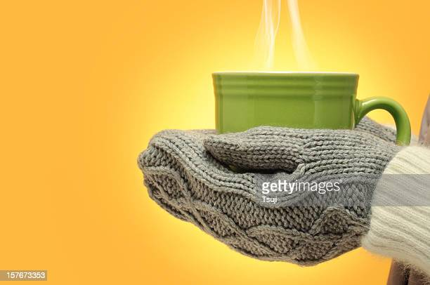 Hot cup of drink