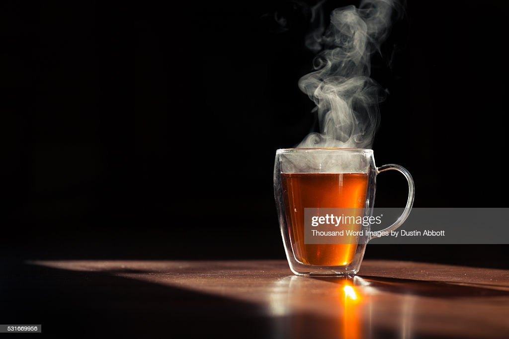 A Hot Cuppa : Stock Photo