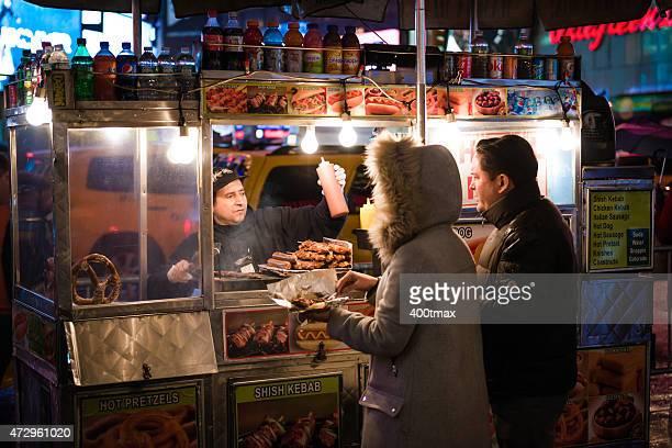 Hot Dog Einkaufswagen