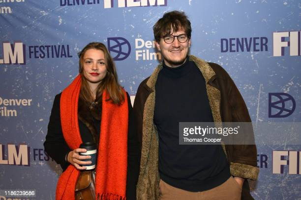 """Hot Dog"""" Director Marleen Valien and Cinematographer Max Rauer on the red carpet at the 42nd Annual Denver Film Festival on November 07, 2019 in..."""