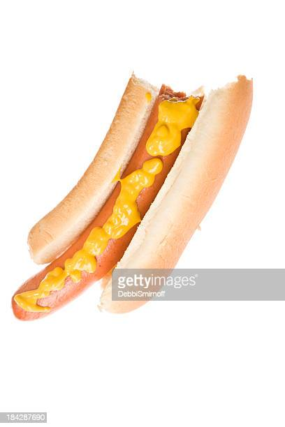 Hot Dog With  A Bite Missing