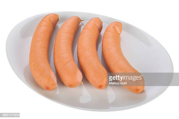 Hot dogs sausages