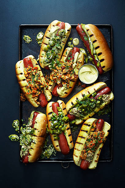 Hot Dogs With Relish Wall Art