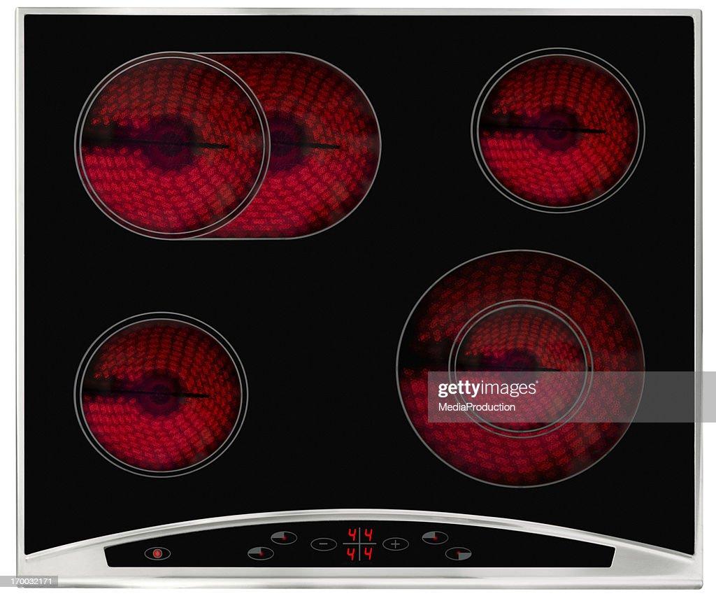 Hot Elektrische Kochplatte : Stock-Foto