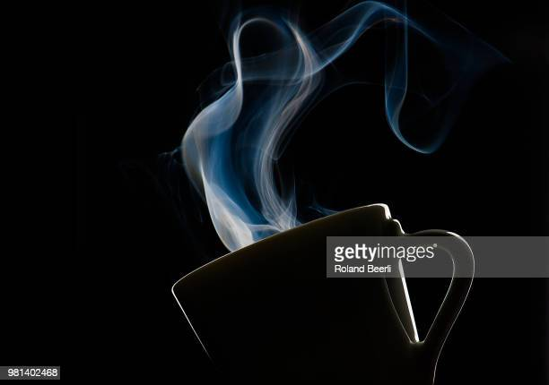 hot espresso - steam stock pictures, royalty-free photos & images