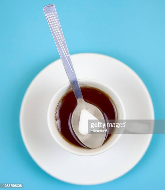 Hot, fresh tea. Tea cup