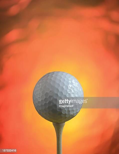 ホットゴルフボール