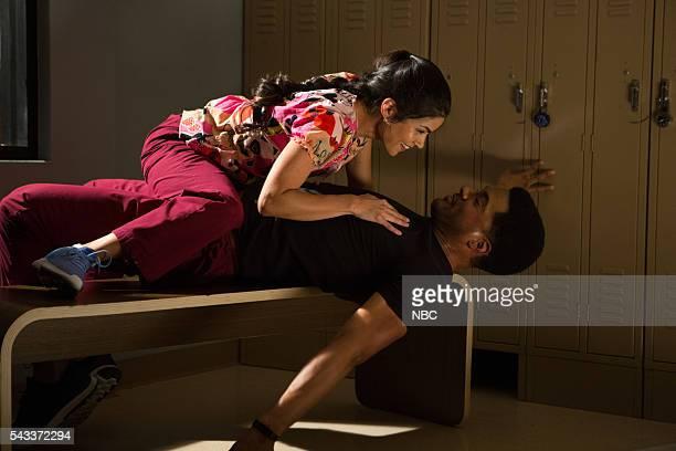 SHIFT Hot In the City Episode 306 Pictured Jeananne Goossen as Dr Krista BellHart JR Lemon as Kenny Fournette