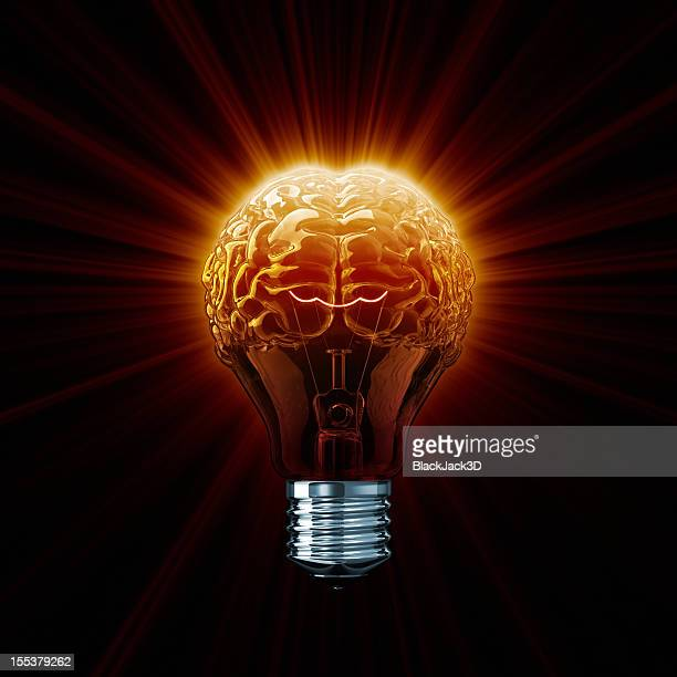 Hot Light Bulb Brain