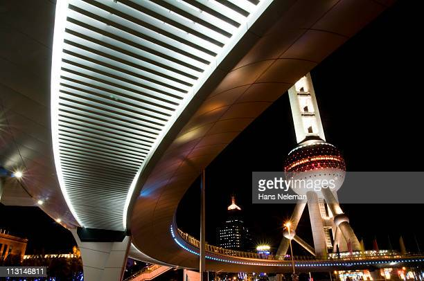hot of the Oriental Pearl Tower (TV Tower)