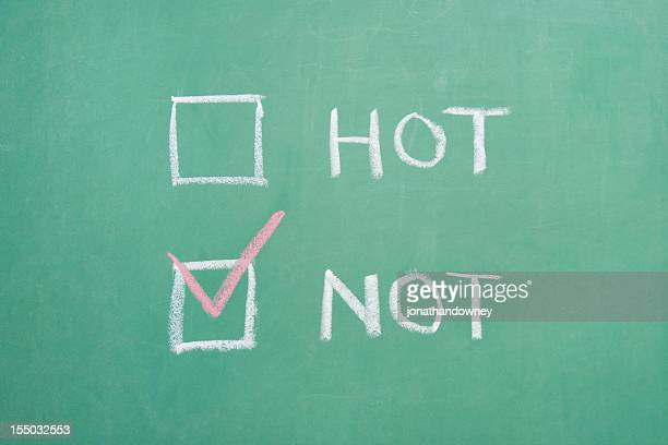 hot or not - scoring stock pictures, royalty-free photos & images