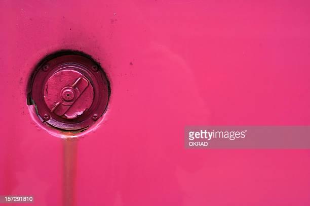 Hot Pink Bug Gas Cap background wallpaper
