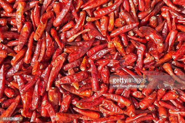 Hot red Pepper Chilis
