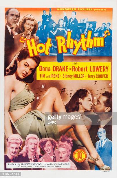 Tim Ryan Irene Ryan center lr Dona Drake Robert Lowery bottom right Harry Langdon on poster art 1944