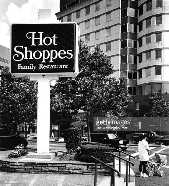 FILE Hot Shoppes restaurant on the corner of EastWest Highway and Wisconsin Avenue in Bethesda Maryland on July 14 1994