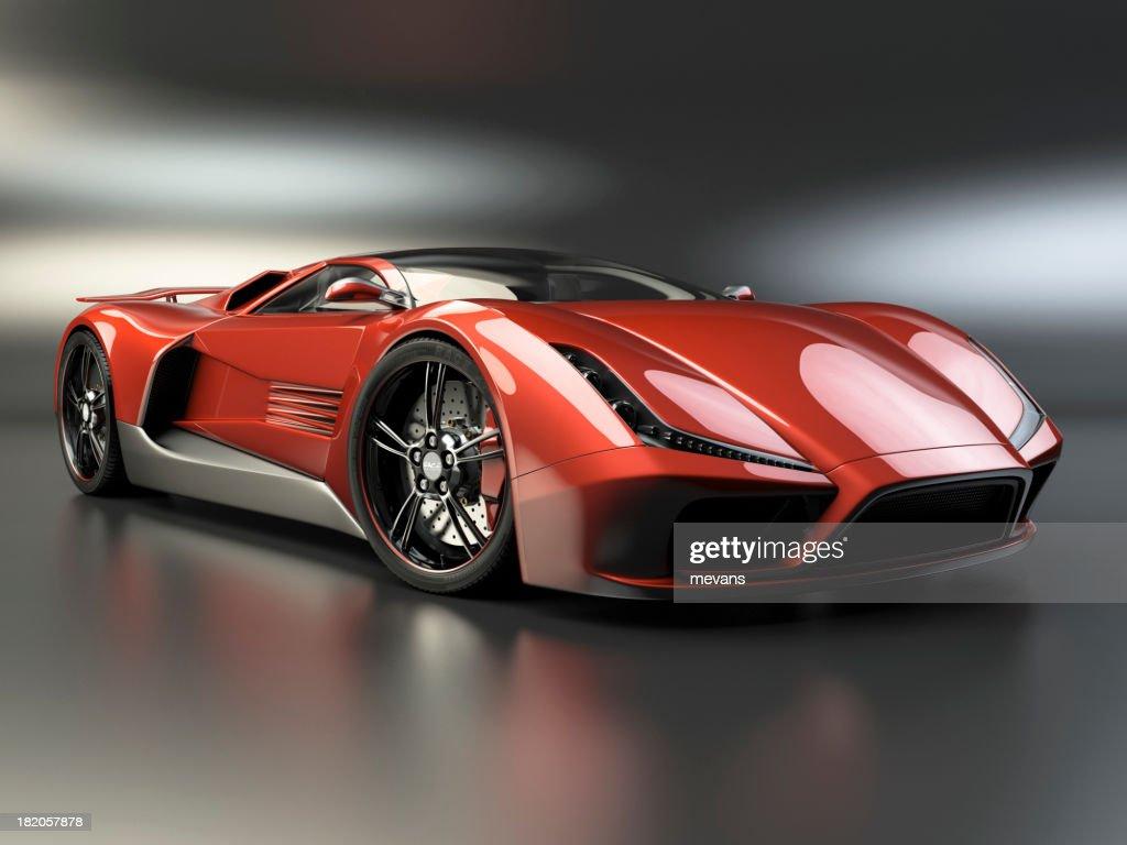Hot coche deportivo : Foto de stock