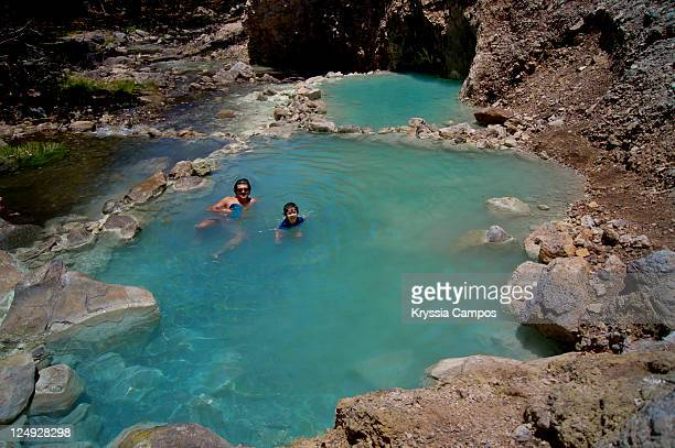 Hot spring waters
