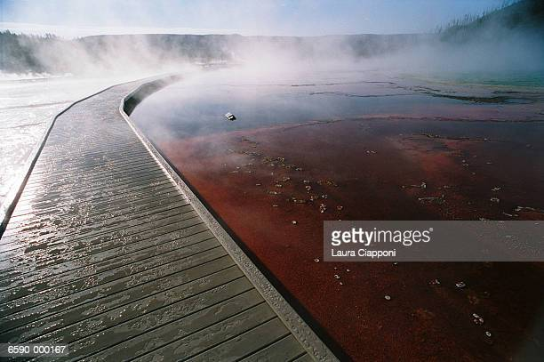 Hot Springs and Walkway