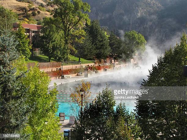 Hot springs swimming pool
