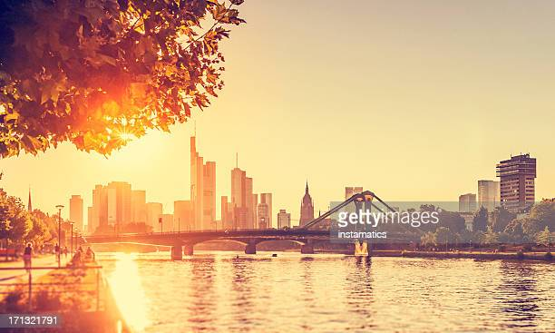 hot summer day - frankfurt am main - heat wave stock pictures, royalty-free photos & images