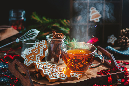 Hot tea for cold winter evenings - gettyimageskorea