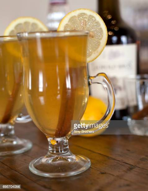 Hot toddy at Leopold Bros distillers in Denver Colorado on February 23 2017