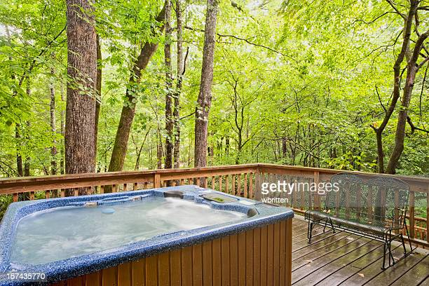 Hot Tub in the Woods (XXL)