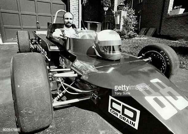 Hot wheels Joe DeMarco of Markham sits behind the whe had neither the money nor the time to become a of his Formula Ford racer a smaller cheaper...