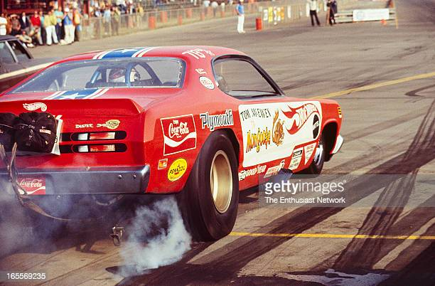 Hot Wheels Supernationals Ontario Tom 'Mongoose' McEwen's Hot Wheels sponsored Plymouth Duster Funny Car Half of the match racing team of Snake and...