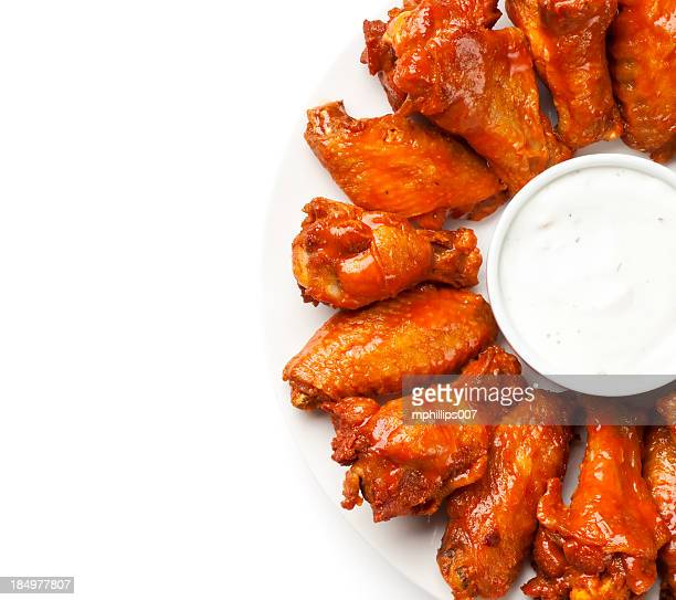 hot wings - chicken wings stock pictures, royalty-free photos & images