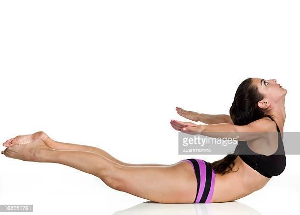 Hot Yoga Pose (Poorna Salabhasana)