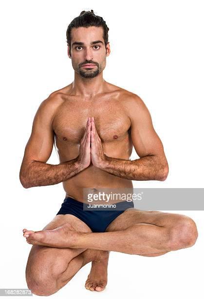 Heißes yoga-Position (Padangustasana