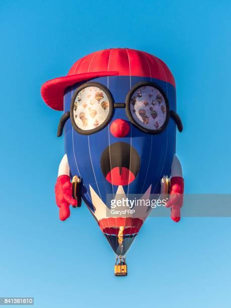 Hot-Air Balloon Pencil Boy Albany Oregon Northwest Art Air Festival