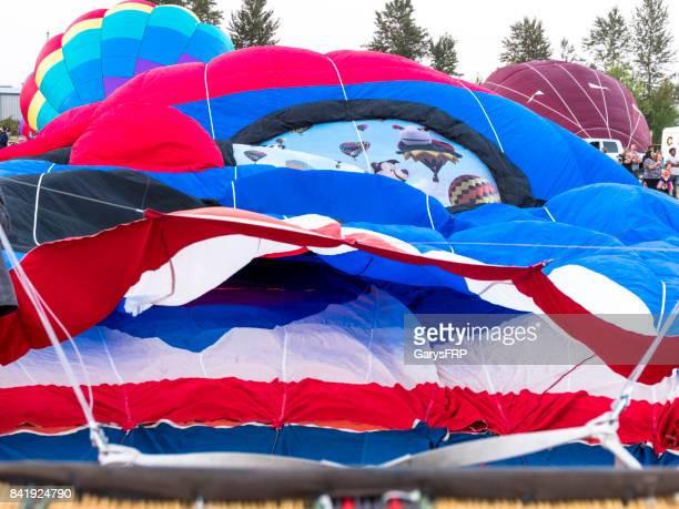 Hot-Air Balloon Pencil Boy Inflation Northwest Art Air Festival