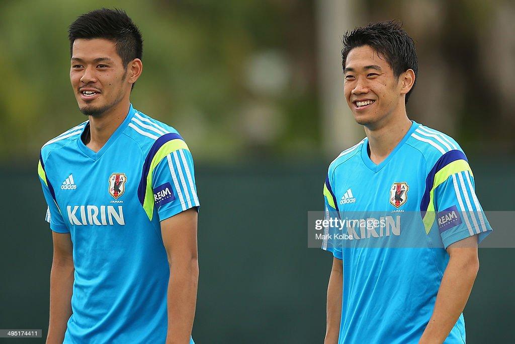 Japan Training & Press Conference : News Photo