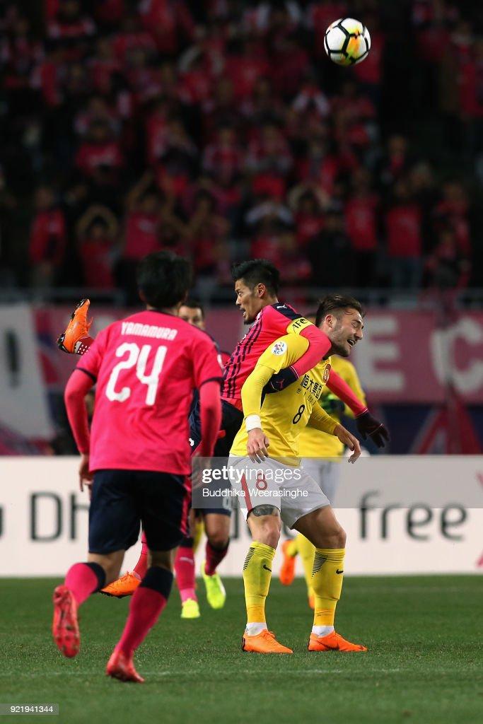 Cerezo Osaka v Guangzhou Evergrande - AFC Champions League Group G : News Photo