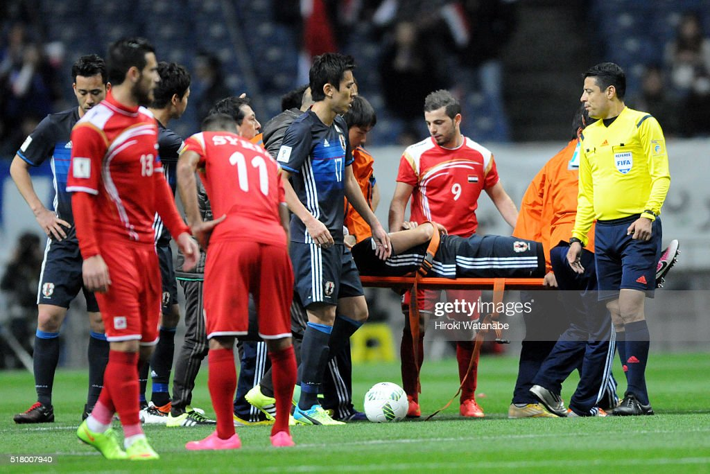 Japan v Syria - FIFA World Cup Asian Qualifier 2nd Round : News Photo