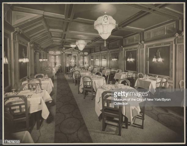 Hotel Algonquin 59 West 44th Street Interior Chinese Dining Room New York New York 1924