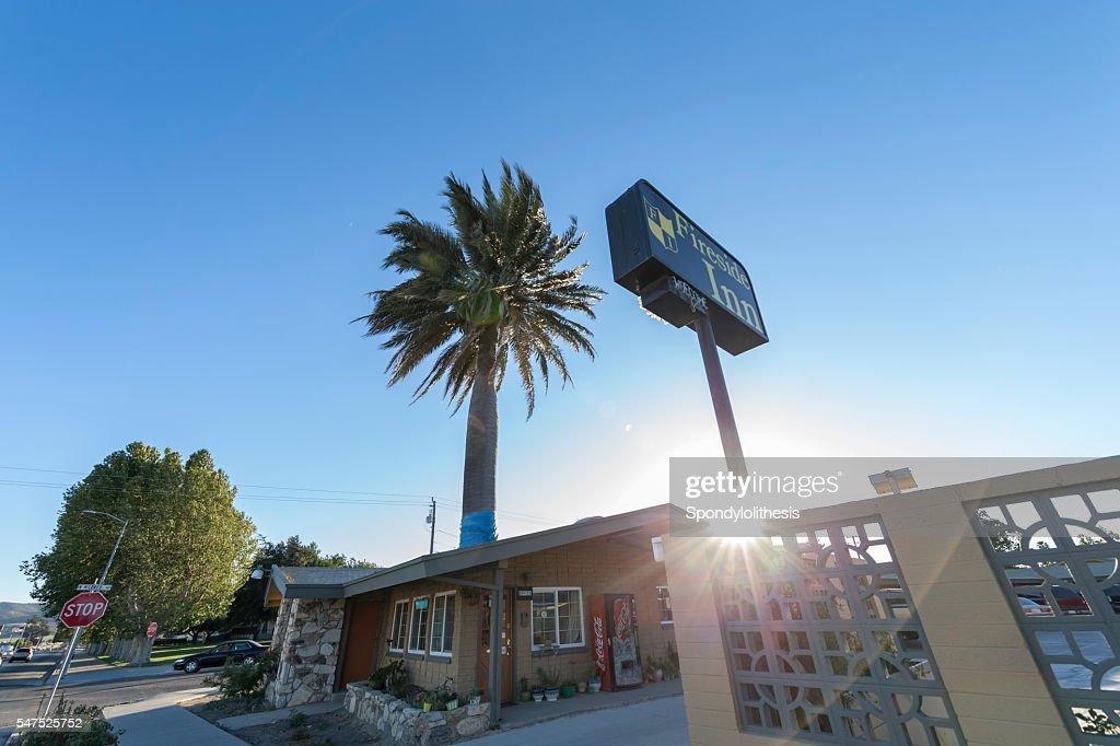 Hotel At King City California Stock Photo