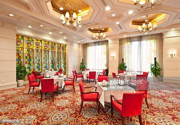 Hotel Banquet Hall Interior