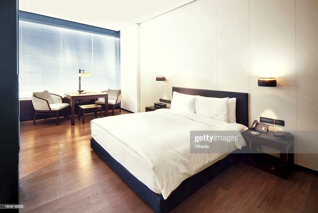hotel bedroom : Stock Photo