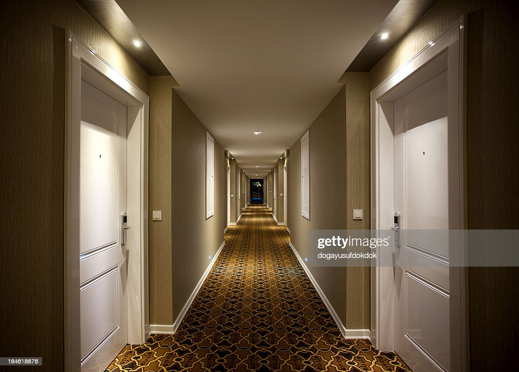 Hotel Corridor Stock Photo Getty Images