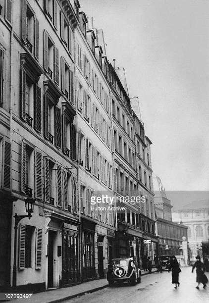 Hotel D'Alsace Rue des Beaux Arts Paris where playwright Oscar Wilde spent his last months until his death in 1900