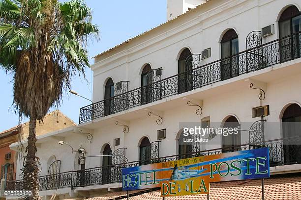 hotel de la poste, saint louis - dafos stock photos and pictures